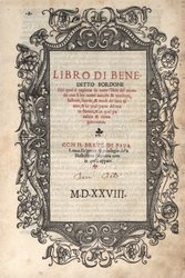Libro Di Benedetto Bordone ...