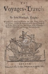 Voyages & Travels Of Sir John Mandevile ...