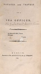 Voyages And Travels Of A Sea Officer ...
