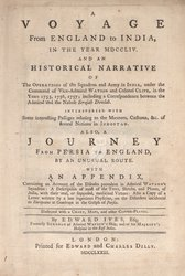 Voyage From England to India, In The Year MDCCLIV ...